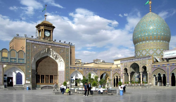 Iran: Holy Shrine of Abdulazim